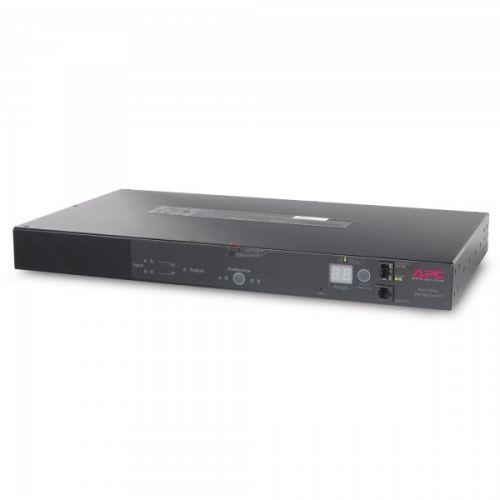 Rack ATS, 16A, 230V, (2)IEC 309 in, (1)IEC 309 Out (AP7722A)