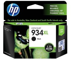 HP 934XL High Yield Black Ink Cartridge (C2P23AA)