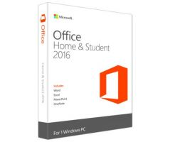 Office Home and Student 2016 Win32/64 English APAC EM Medialess P2