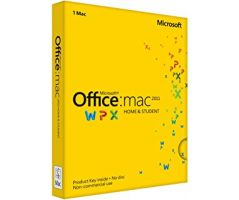 Office Mac Home Student 2016 English APAC EM Medialess P2 (GZA-00980)