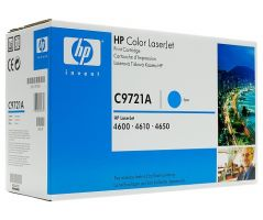 HP CLJ 4600, 4650 Cyan Print Cartridge (C9721A)