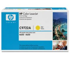 HP CLJ 4600, 4650 Yellow Print Cartridge  (C9722A)