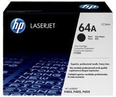 HP LaserJet 10K Black Toner Cartridge (CC364A)