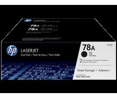 HP 78A Blk Dual Pack LJ Toner Cartridge (CE278AD)