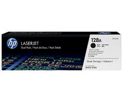 HP 128A Black Dual Pk LJ Toner Cartridge (CE320AD)