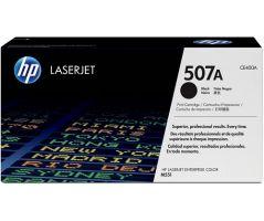 HP 507A Black LaserJet Toner Cartridge (CE400A)