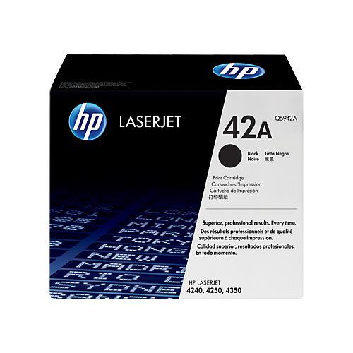Toner Cartridge Black Compatible for Hp Q5942A 42A LaserJet 4240 4350 4250 Print