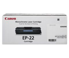 Canon Toner Black Cartridge (EP-22)
