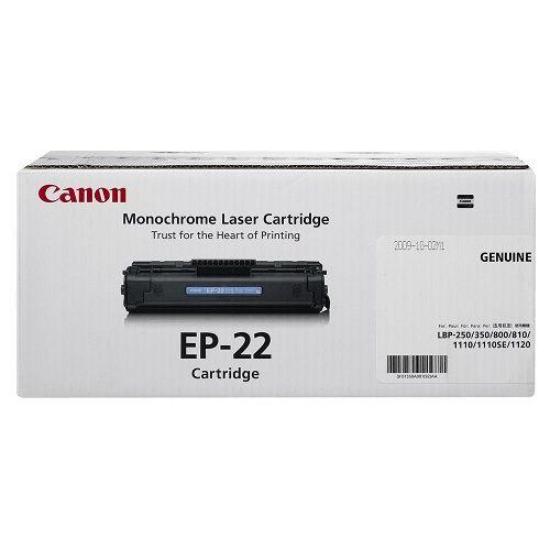 Canon Toner Black Cartridge (EP-22)