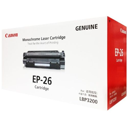 Canon Toner Black Cartridge (EP-26)
