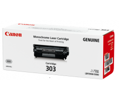 Canon Toner  Black Cartridge (Cartridge-303)