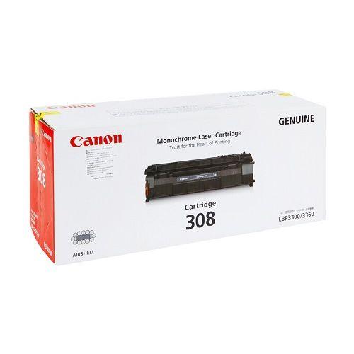 Canon Toner Cartridge Black  (CARTRIDGE308)