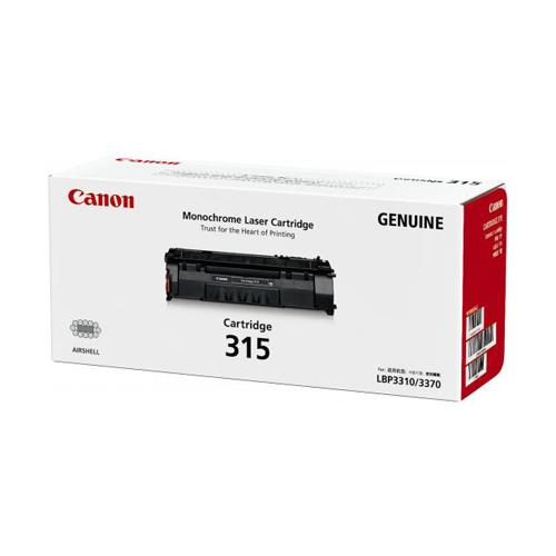 Canon Toner Black Cartridge (CARTRIDGE315)