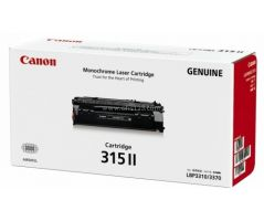 Canon Toner Black Cartridge (CARTRIDGE315II)