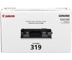 Canon Toner Black Cartridge (CARTRIDGE319)