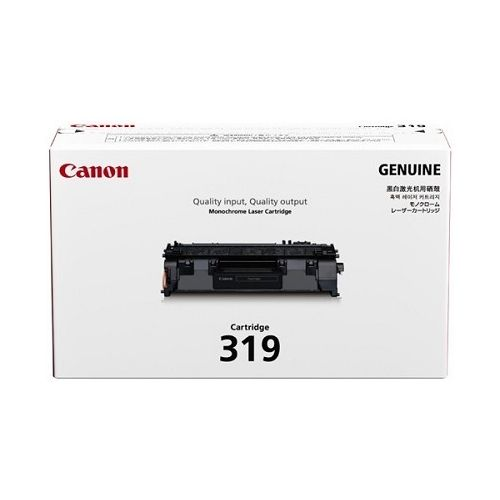 Canon Toner Black Cartridge (CARTRIDGE319)