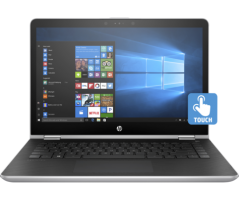 Notebook HP Pavilion X360 14-ba157TX
