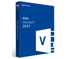 Software Microsoft Visio Standard 2019 32/64 English (D86-05810)