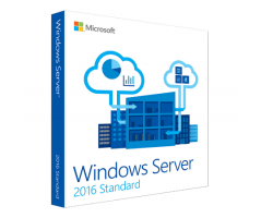 Software Microsoft Windows Server Standard 2016 64Bit English academic edition 10Clt 16Core License (P73-07020)
