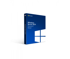 Software Microsoft Windows Server Standard 2019 64Bit English 10Clt 16Core License (P73-07701)