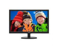 Monitor Philips LED-MVA 23.6inch 4ms 1920x1080 (243V5QHSBA/67)