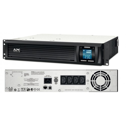 APC Smart-UPS 1,000VA/600W(SMC1000I-2U)