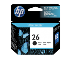 HP 26A Large Black Inkjet Cartridge(51626AA)