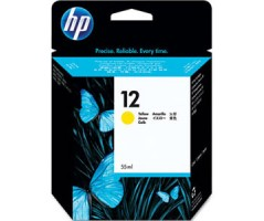 HP 12 Yellow Ink Crtg(C4806A)