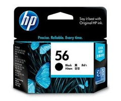 HP 56 Black Inkjet Crtg AP(C6656AA)