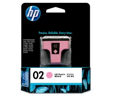 HP 02 AP Light Magenta Ink Cartridge (C8775WA)