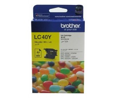 Brother ink cartridge Yellow (LC-40Y)