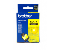 Brother ink cartridge Yellow (LC-47Y)