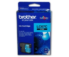 Brother ink cartridge Cyan (LC-67C)