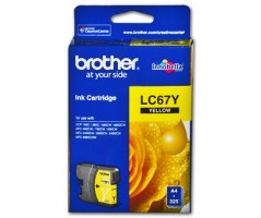 Brother ink cartridge Yellow (LC-67Y)