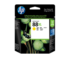 HP 88 Large Yellow Ink Cartridge (C9393A)