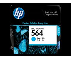 HP 564 Cyan Ink Cartridge (CB318WA)
