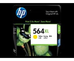 HP 564xl Yellow Ink Cartridge (CB325WA)